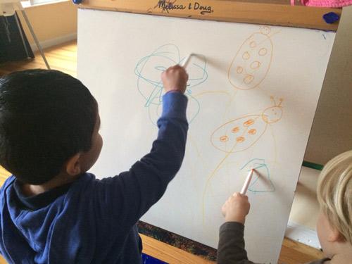 Les Kidz drawing