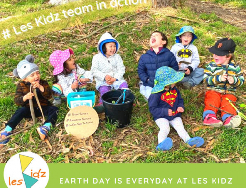 Earth Day is everyday at Les Kidz